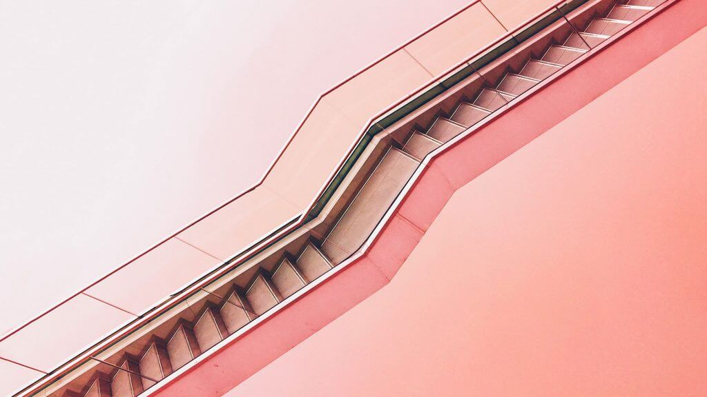 Blog Feature Pink Stairs - Jupiter X Blog Styles