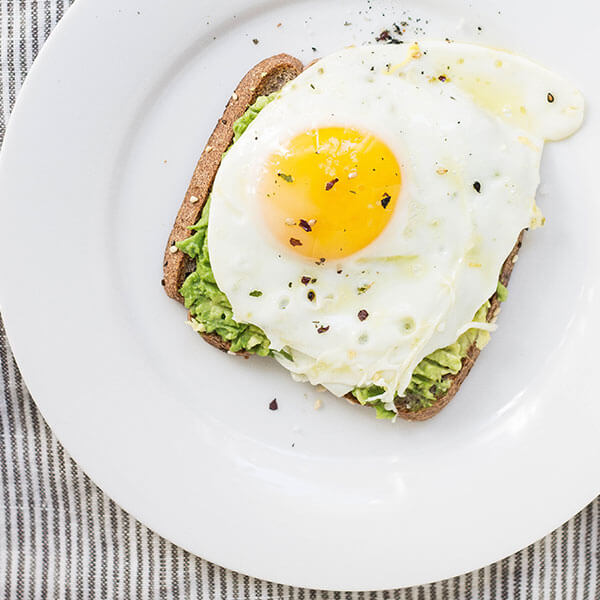 Blog Categories Toast with Egg - Jupiter X Blog Styles